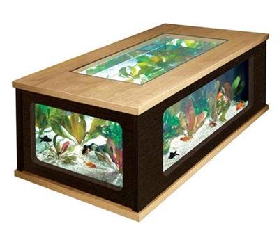 Aquarium Basse ~ Pour Salon Table UVSpGzqM